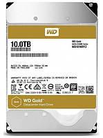 Жесткий диск WD GOLD 10TB (WD101KRYZ) SATA rev. 3.0, 7200RPM, 6GB/S, 256MB