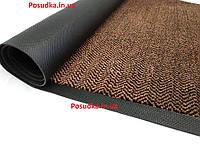 Коврик покрытие грязезащитный для прихожей с полиамидным покрытием ZIG-ZAG Ygroup K-402 85*120 см