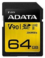 Карта памяти Adata SD Premier ONE 64GB SDXC UHS-II Class10 (ASDX64GUII3CL10-C), фото 1