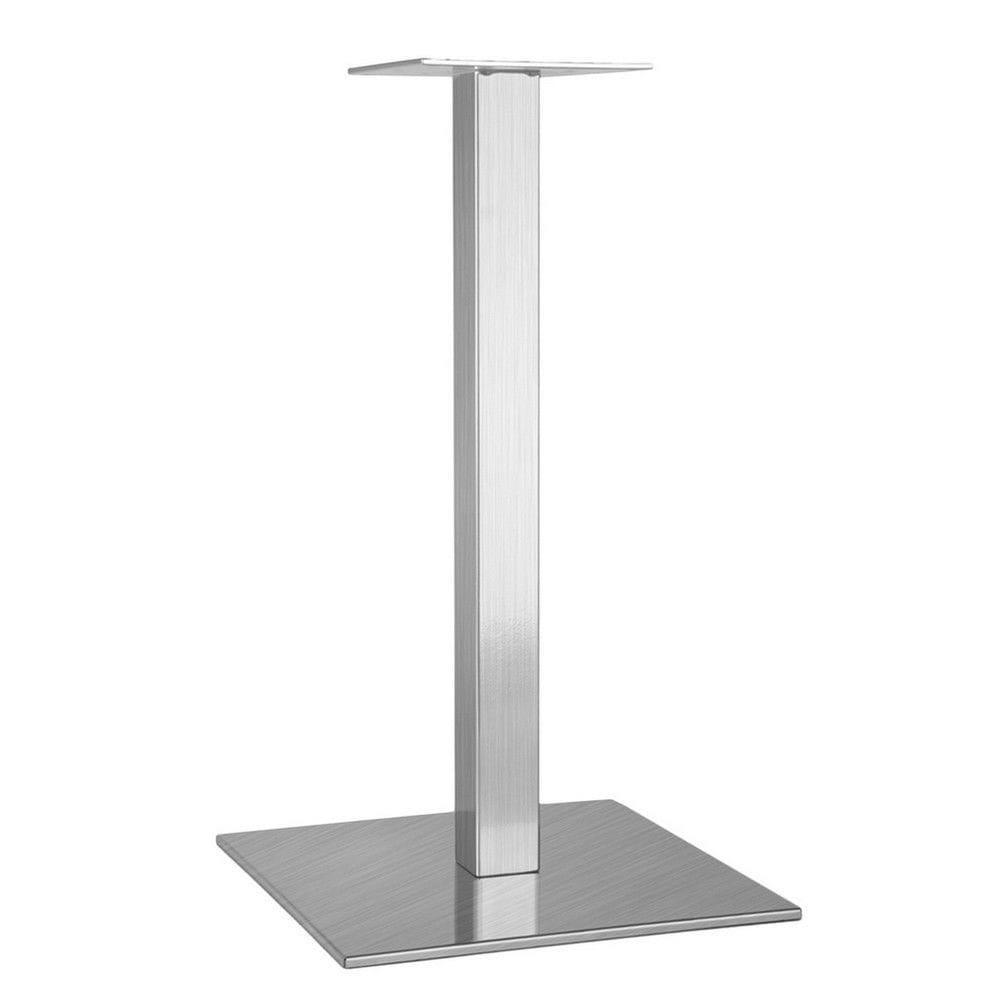 Ножки для столиков в ресторан из металла цвет серый металлик