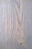 Паркетная доска Дуб натуральный однополосная трёхслойная БРАУН Рустик масло фаска 1800-2200х180х14мм