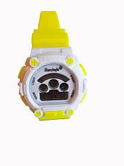 Детские электронные часы Haozhufu Желтые Hzh-025Y, КОД: 111925
