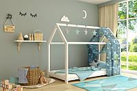 Ліжко дерев'яне Будиночок