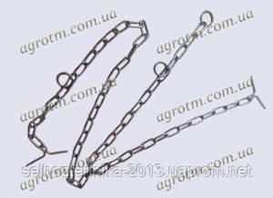 Цепь для привязи КРС трех концевая d-5мм