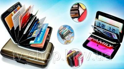 Визитница-кошелек Aluma Wallet