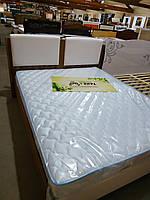 Кровать Белла 1600 мех. олив/бел. (Эмбавуд)