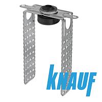Прямой подвес Knauf 120 мм для профиля антивибрационный CD 60/27