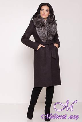 Женское теплое зимнее пальто (р. S, М, L) арт. К-84-37/44693, фото 2