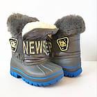 Зимние непромокаемые сноубутсы, р. 28, 30, 31, 32 ТМ Канарейка. Теплые на меху, фото 8