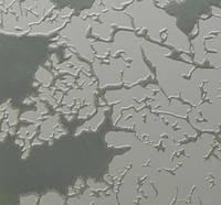 Стекло узорчатое рифленное Мираж бесцветный 4мм