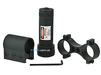Лазерный целеуказатель Brons Laser Avdio с креплением на планку Weaver и на Оптику, фото 1