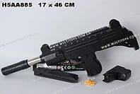 Игрушечный автомат с пулями и прицелом