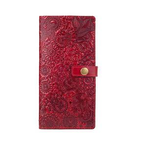"""Тревел-кейс, коллекция """"Mehendi Art"""". Цвет красный"""