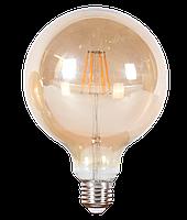 LED лампа филомент  G125-6W-8