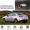 Камера заднего вида ночного видения для KIA Forte Koup Kia Cerato 2008 ~ 2016, фото 5