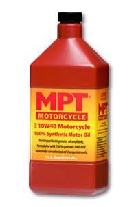 Мотоциклетные и двухтактные масла MPT Motorcycle   100% Full Synthetic