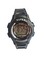 Наручные часы  Xinjia 666 спортивные электронные Черные, КОД: 111929