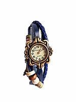 Часы женские кварцевые Viser Vintage Синие 0032Bl, КОД: 111996