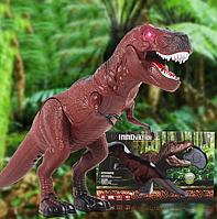Динозавр на пульте управления  REX (свет, звук)
