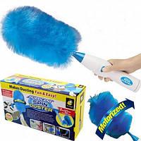 TV-Shop Электрическая щетка для уборки пыли Hurricane Spin Duster