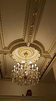 Гипсовая лепнина в интерьере. Декорирование потолка и стен.