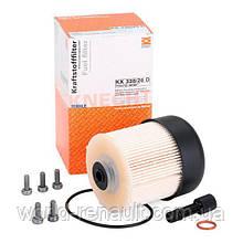 Топливный фильтр на Рено Каптюр 1.5dci / KNECHT KX338/26D