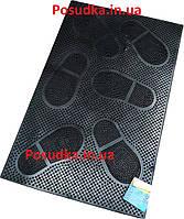 Коврик грязеочищающий резиновый YPgroup К-16 40*60 см