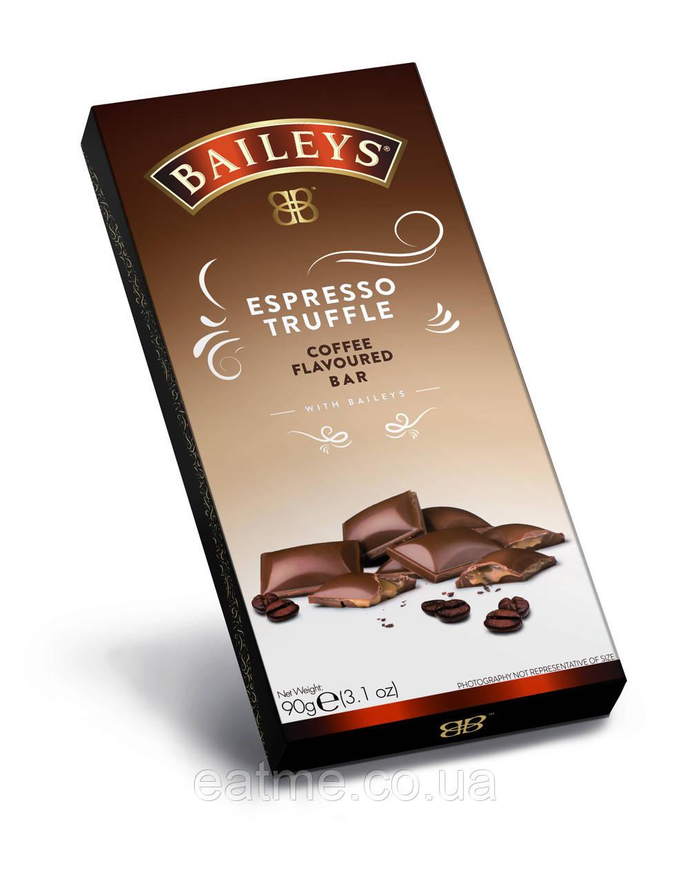 Молочный шоколад с кофейной начинкой и ликером Baileys