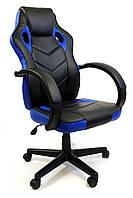Кресло офисное компьютерное7F RACER EVO, синє