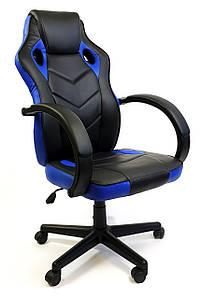 Кресло офисное компьютерное 7F RACER EVO, синее