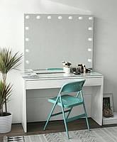Стол для визажиста, гримерный с зеркалом и подсветкой СВ-4