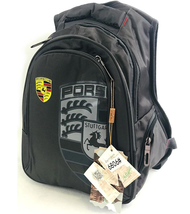 """Підлітковий шкільний рюкзак для хлопчика """"Porsche"""" 6806"""