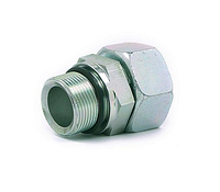 Прямая поворотная муфта (сталь) Hydroflex 1016-0 DE - METRIC, фото 1