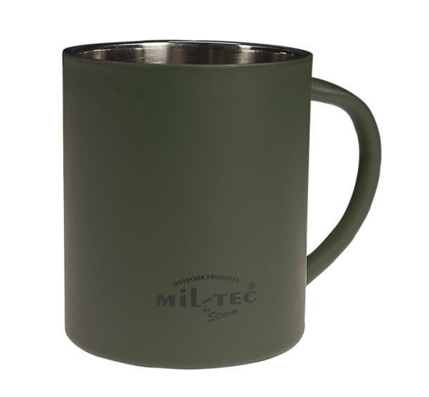 Кружка с двойными стенками MIL-TEC 350 мл  Olive 14603000