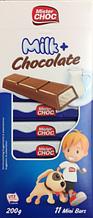 Шоколад в стиках Mister Choc Milk 200 г