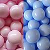 Кульки для сухого басейну 8см великі (колір ніжний)