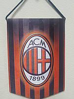 Вымпел  футбольный с изображением герба FC Milan