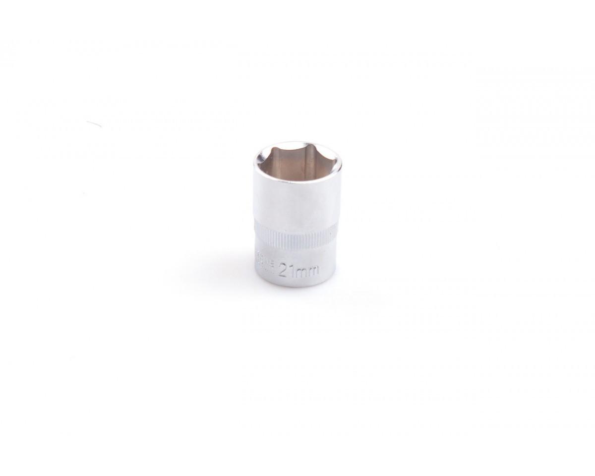 "Головка шестигранная 1/2"", 21 мм, CRV LA 601221 Lavita"