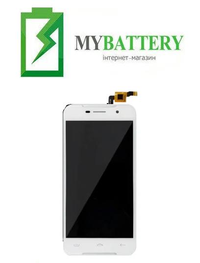 Дисплей (LCD) Doogee (HomTom) HT37/ HT37 Pro с сенсором белый