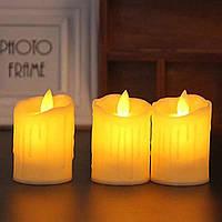 Светодиодная свеча с имитацией пламени 5W44 набор