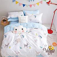 Постельное белье для малышей в кроватку 377 Viluta