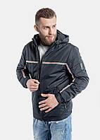Мужская демисезонная куртка RiccardoТ2 S Синяя 3rc00646, КОД: 1289590
