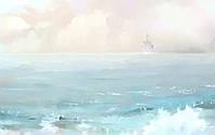 "Фотообои -картина ""Морской пейзаж"""