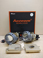 Bi-LED линза AOZOOM А6 Terminator, 3 дюйм, 35/45W, 5600/7200LM, 12V, 5500K