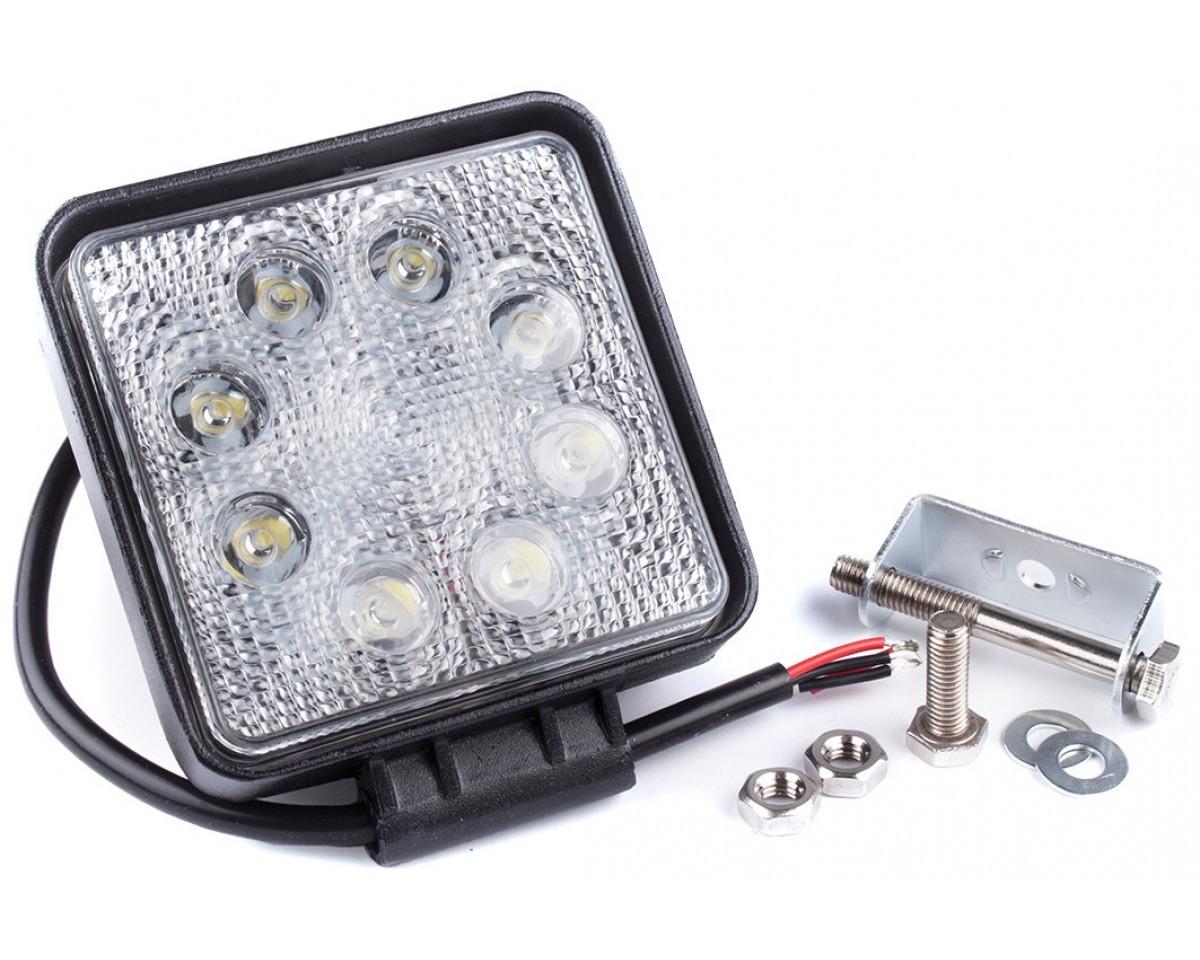 Фара дневного света 128x110x45 мм, LED 8x3 Вт, 1 шт. LA 292414S Lavita
