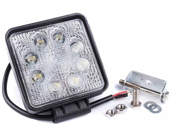 Фара дневного света 128x110x45 мм, LED 8x3 Вт, 1 шт. LA 292414S Lavita, фото 2