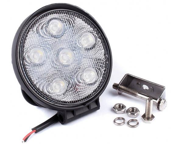Фара дневного света 128x110x43 мм, LED 6x3 Вт, 1 шт. LA 291811 Lavita, фото 2