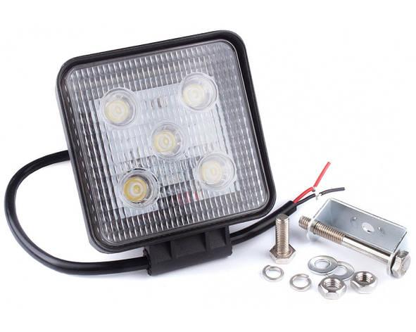 Фара дневного света 128x110x41 мм, LED 5x3 Вт, 1 шт. LA 291529 Lavita, фото 2