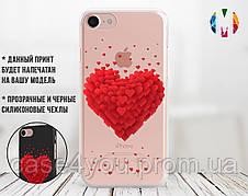 Силиконовый чехол для Samsung A105 Galaxy A10 Большое сердце (13016-3004)