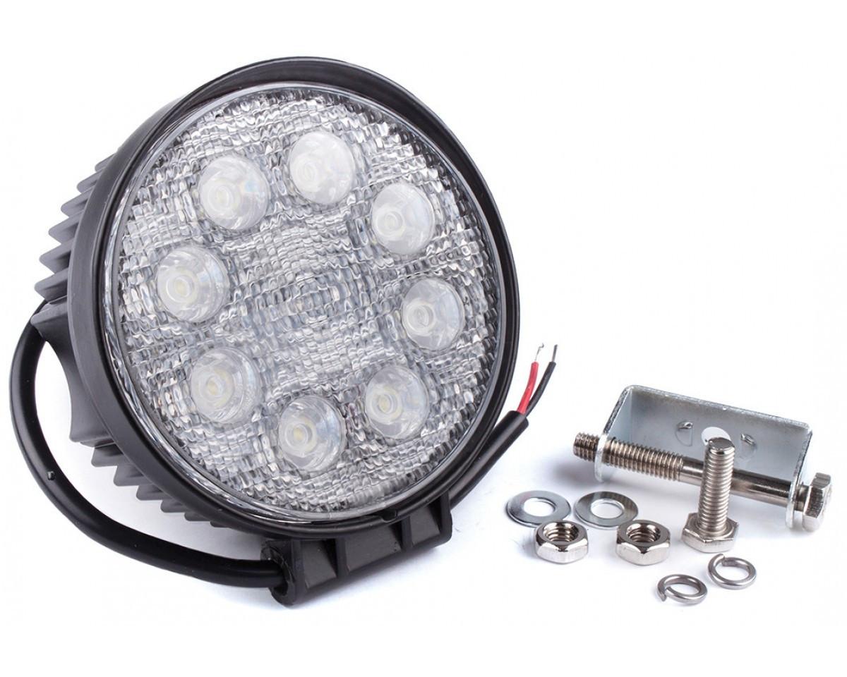 Фара дневного света , LED 8x3 Вт, 1 шт. LA 292414R Lavita